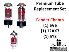 (1x) Premium NEW Fender Champ Tube Replacement Set - 6V6 5Y3 12AX7 - Tone 4 days