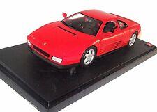 Ferrari 348 Tb 1989,Red Hotwheels Foundation 1/18 Diecast Car Model , New,Rare
