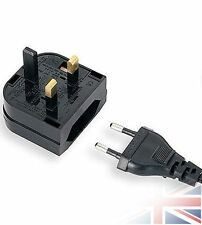 US AU EU to UK AC Universal Adapter Power Plug Travel Wall Converter Cord Euro