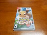 Pokemon Let's Go Eevee (Nintendo Switch) Replacement Art & Case Only