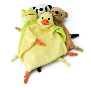 Plüschtuch Schnuffeltuch Kuscheltuch Panda Ente Bärchen Frosch Baby Kleinkind
