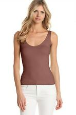 Only Hearts Delicious Tank In Mocha Small NWT