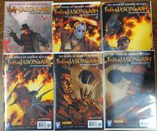 Freddy Vs Jason Vs Ash 1-6 Complete Set Wildstorm Dynamite 2009-2010