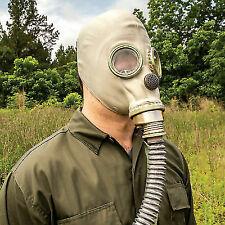 Real Polish Military Gas Mask Hose Respiratory Surplus Chemical Nuclear Warfare