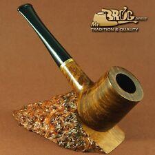 "OUTSTANDING HAND MADE Mr.Brog original smoking pipe nut smooth "" POKER """