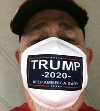 Trump 2020 Safety Face Masks Protection Washable Cotton Reusable New