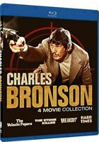 Charles Bronson Collection 4 Movie Collection Blu-ray Breakout Hard Times NEW