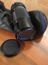 Obiettivo Canon Zoom lente FD 70-150mm 1:4,5 funzionante con custodia