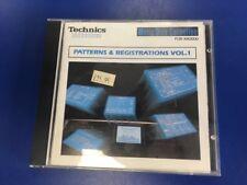 TECHNICS floppy per serie KN TASTIERA-Patterns & registrazioni VOL 1