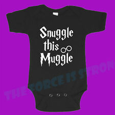 Snuggle This Muggle  Baby One Piece Romper Suit Clothing Boy Girl Funny Gift