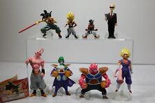 Dragon Ball Z Gashapon HG Vol.8 Miniature Figure Full Set Zarbon Announcer Ubu