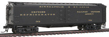 "HO Scale - BROADWAY LIMITED 1831 M & StL GACX 53'6"" Wood Express Reefer Car"