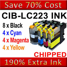 20 Ink Cartridge For Brother LC223 MFC-J4420DW J4620DW J4625DW J5320DW J5620DW