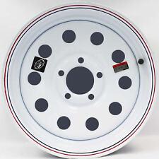 "15"" x 5"" White Modular Trailer Wheel (5-4.5"" Bolt Circle)"