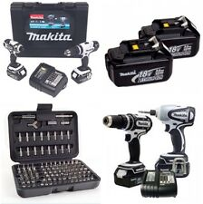 MAKITA 18v TWIN PACK  DLX2020SW   *COMPLETE LXT  X2 HEAVY DUTY 3.0 BATTERYS*