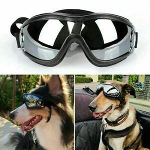 Pet Dogs Sunglasses UV Goggles Adjustable Waterproof Eye Wear Protection Outdoor