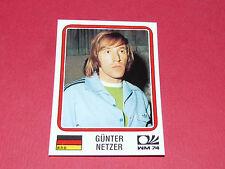 71 NETZER 1974 BRD RFA MÜNCHEN 74 FOOTBALL PANINI WORLD CUP STORY 1990 SONRIC'S