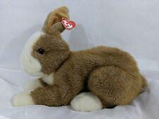 Bunny Rabbit Dutch Brown White Plush Medium Stuffed Animal Beanie Baby Thimbles