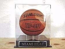Basketball Display Case For Your Miami Heat Team Signed Basketball