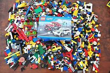 BULK VINTAGE LEGO 1000's pieces Police Cars Truck 60128 set in box Space
