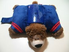 """12"""" x 9"""" plush NFL New York Giants by Pillow Pets Dream Lites, good condition"""