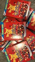POKEMON BERRY BOLT CEREAL RARE! FIRE TYPE BOXES