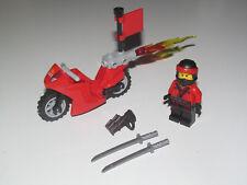 Lego ® Minifig Figurine Ninjago Le Film Ninja Kai + Sabres & Moto du Feu NEW