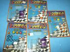 Z-Cars R/C Multi-Pod atomic toys 5 piece lot as pictured