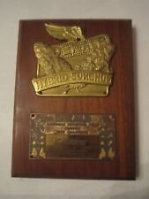 1958 DEKALB HYBRID SOCRGHUM NATIONAL CHAMPION FIRST PRIZE PLAQUE - TUB R5