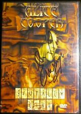 Alice Cooper - Brutally Live (DVD, 2000) signed by Eric singer b51