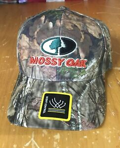 new MOSSY OAK Camo SCENT CONTROL adjustable Baseball Cap Hat ONE SIZE hunting