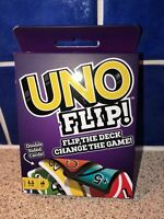 UNO FLIP CARD GAME Mattel Classic Double Sided Cards Family Party Fun