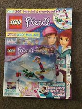 Lego Friends Magazine issue 42 mini doll & snowboard set
