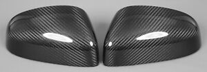 Aston Martin Vantage VC Side Mirror Covers (OEM Replacements) 100% Carbon Fiber