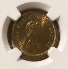 1977 Hong Kong 50 Cents NGC MS 66