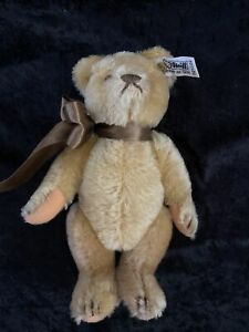 """STEIFF Limited Edition Blonde Mohair Bear - 8 1/2"""" - 0210/22 - Jointed - 1983"""