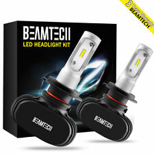 BEAMTECH H7 50W 8000LM LED Headlight Kit High/Low Bulbs 6500K Power Car Lights
