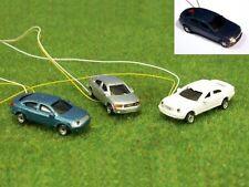 B48 N 3 Piezas Coches Automóviles con 4 LED Intermitentes de advertencia