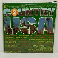 Country Road – Country USA: Pickwick/33 1974 Vinyl 2-LP Set Stereo