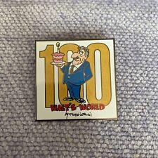Disney 100 Years Of Magic Walt's World Caricature Floyd Norman Pin 2001