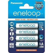 Panasonic Eneloop AA 4 Pk New Generation NiMH Rechargeable Batteries 2100X