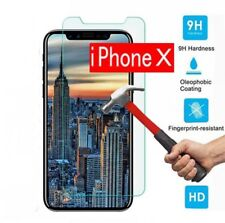 For Apple iPhone 10/X 3D HD Clear Full Covers Temper Glass Film Screen Protector