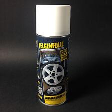 Sprühfolie Felgenfolie Flüssiggummi 1x 400ml Spray weiss matt