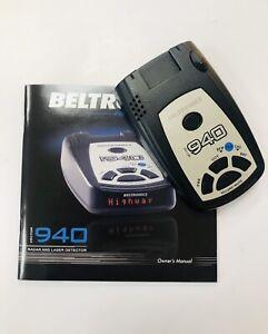 Beltronics Vector 940 Radar Detector
