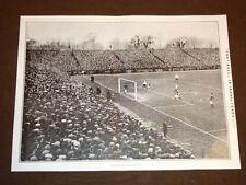 Foot ball o Calcio in Inghilterra nel 1908 + Miss Elkins a Elkinsville Virginia