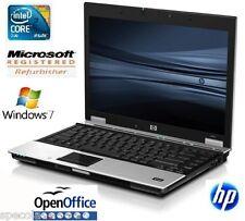 Laptop HP EliteBook 6930p Core 2 Duo 2.40GHz 160GB 2GB  Win 7 Pro OPEN Office(Y)