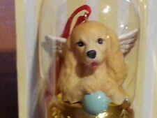 1 Dozen Cocker Spaniel Dog Figurine Brass Bells By Dnc Arcadia 12 Pc Ornaments