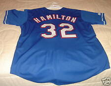 Texas Rangers Josh Hamilton 3rd Replica Jersey NWT Blue