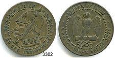 3302 - MEDAILLE MONNAIE SATIRIQUE NAPOLEON III