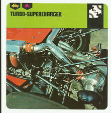 1978 Edito-Service Auto Rally Turbo-Supercharger Card
